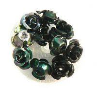 Kvetinky metal - 11.čierne