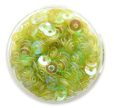 Konfety flitre CD - zelenkavé aqua