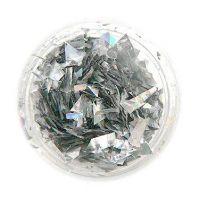 Fólia - 6.strieborná metal hologram