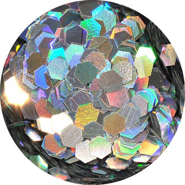 Konfety hexagony plné - LB100