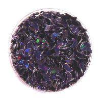 Konfety mesiačiky - 12.čierne hologram