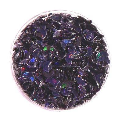 Konfety na zdobenie nechtov, hologramy, mesiačiky, nail art