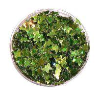 Konfety motýliky - 9.zelené metal hologram