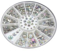 Diamanty Crystal AB Mix mini kolotoč