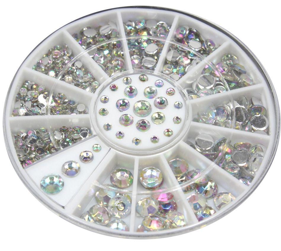 Diamanty Crystal AB Mix mini kolotoč