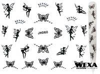 Nálepky Black kamienkové - JH060 Fairy