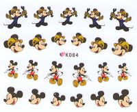 Nálepky na nechty Mickey K084