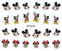 Nálepky na nechty Mickey K087