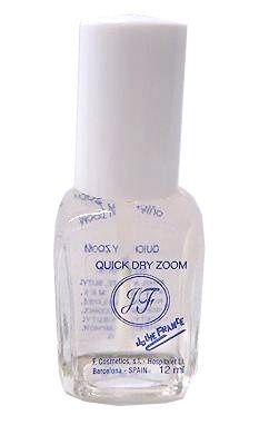 Quick Dry Zoom - rýchloschnúci priehľadný lak na nechty