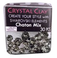 Swarovski Chaton Mix Black