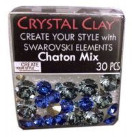 Swarovski Chaton Mix Blue