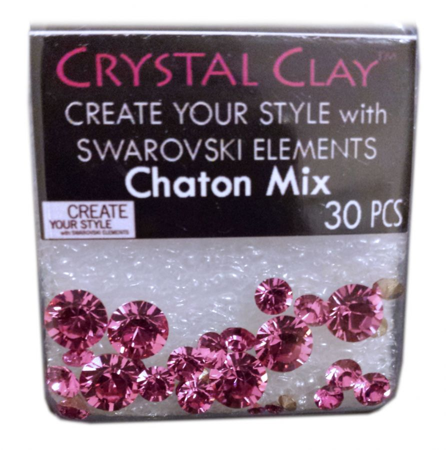 Swarovski Chaton Mix Pink