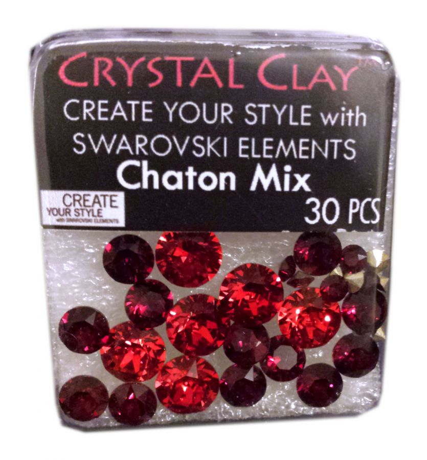 Swarovski Chaton Mix Red