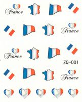 Vodolepky na nechty ZQ001 - Francúzsko
