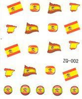 Vodolepky na nechty ZQ002 - Španielsko