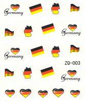Vodolepky na nechty ZQ003 - Nemecko