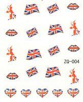 Vodolepky na nechty ZQ004 - Veľká Británia