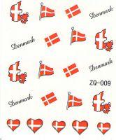 Vodolepky na nechty ZQ009 -  Dánsko