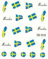 Vodolepky na nechty ZQ010 - Švédsko
