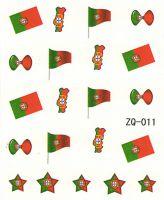 Vodolepky na nechty ZQ011 - Portugalsko