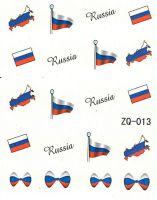 Vodolepky na nechty ZQ013 - Rusko