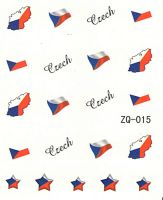 Vodolepky na nechty ZQ015 - Česká republika