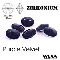 ZIRKONIUM Rivoli 10mm - Purple Velver