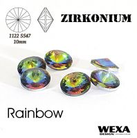 ZIRKONIUM Rivoli 10mm - Rainbow
