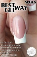 francúzka manikúra a make up gel