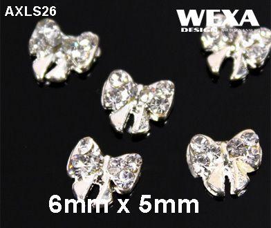 Crystal 3D Deco - AXLS26 - 3D mašličky