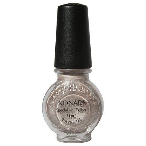 KONAD lak na Stamping Nail Art - 62 - Light Bronze