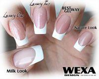 Milk Look UV gél na nechty - 50ml