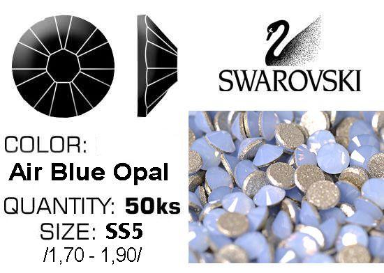 Swarovski F - Air Blue Opal SS5