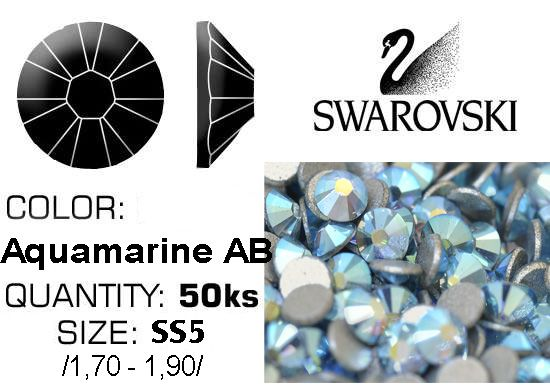 Swarovski F - Aquamarine AB SS5
