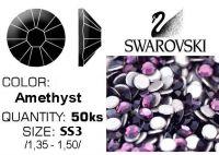 Swarovski F - Amethyst SS3