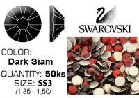 Swarovski F - Dark Siam SS3