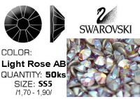Swarovski F - Light Rose AB SS5