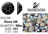 Swarovski F - Rose AB SS5