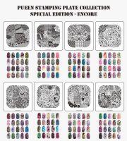Set Stamping Platničiek - ENCORE