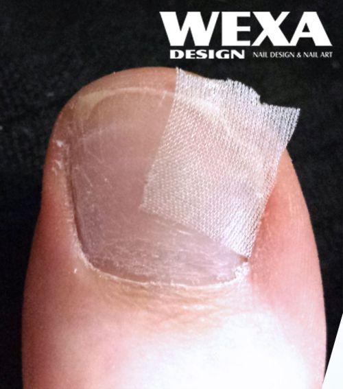 Hodvábne vlákno na nechty - fiberglass