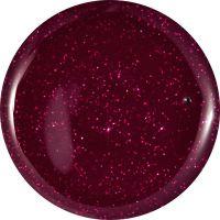 Farebný Glamour Cosmic UV gél - Dark Carmen