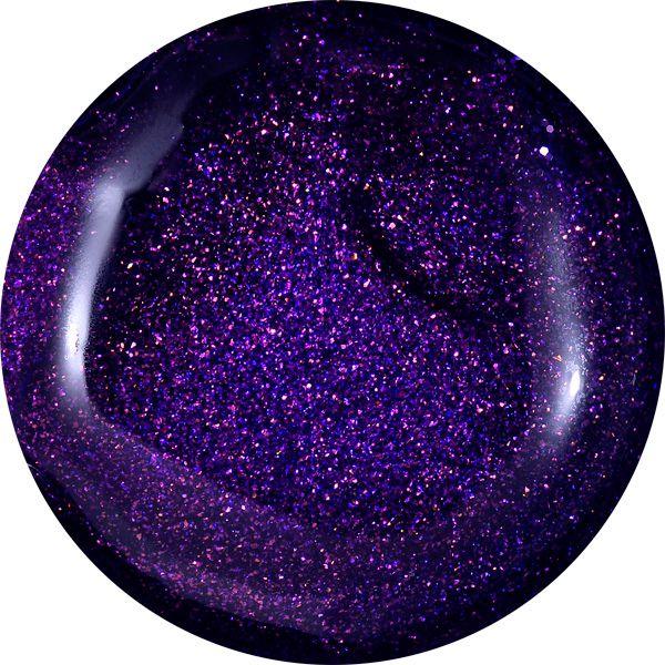 Farebný Glamour Cosmic UV gél - Magical Lila