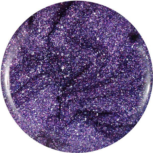Farebný Glamour Glitz UV gél - Anemone