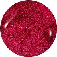 Farebný Glamour Glitz UV gél - Peony