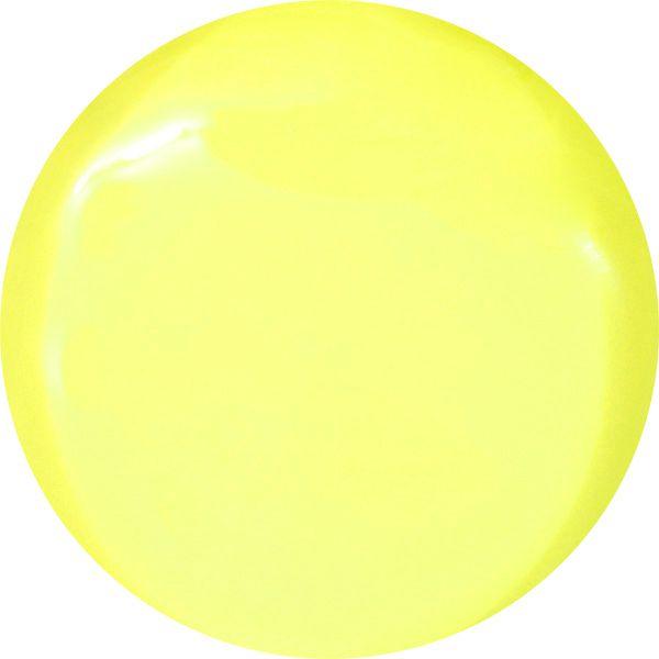 farebny uv gel pastelovo zlty