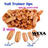 Nail Trainer Practice Hand - náhradné typy