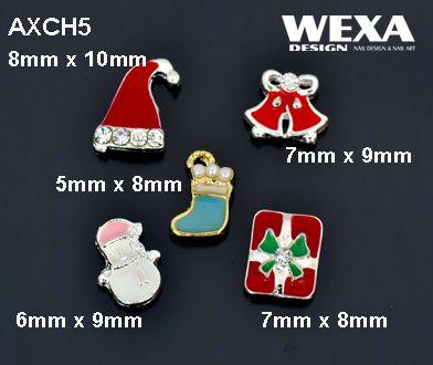 Crystal 3D Deco - AXCH5 - vianočné ozdôbky na necht