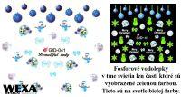 Fosforové vodolepky na nechty - GID041