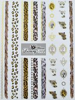 Luxury vodolepky gold L002 - Leopard