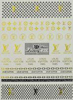 Luxury vodolepky gold L213 - Louis Vuitton